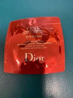 迪奧CD極效賦活眼部精萃試用包