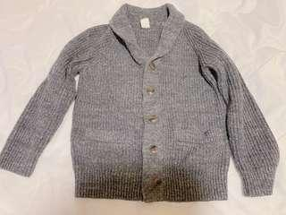 🚚 【近全新出清特賣】適合4-5Y孩童灰色毛衣外套