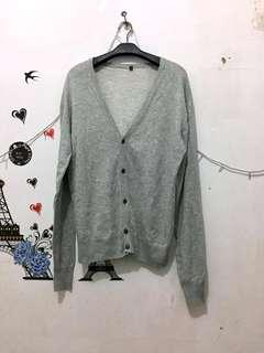 All item 20k(Grey Cardigan rajut import)