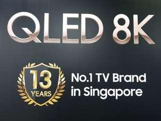 Pre Launch Order!!! Samsung 65 inches n above 8K QLED TV!!!