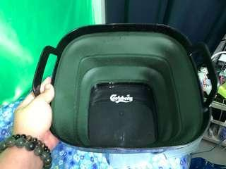 Carlsberg silicone collapsible ice bucket
