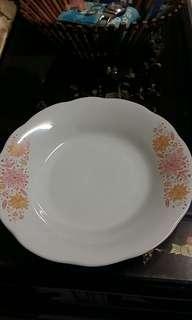 Side Flower Dinner Plate #SnapEndGame