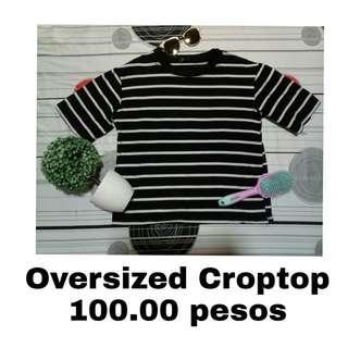 Oversized Croptop