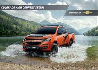 Chevrolet Colorado High Country Storm 2019
