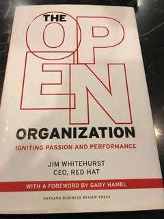 🚚 The Open Organization : Igniting Passion and Performance