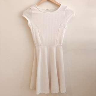 Bershka white dress #STB50