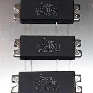 FAINAL /POWER MODUL Type SC 1091 Untuk radio RIG ICOM IC 2100, DR 135 MK 2, KENWOOD TM 241/261