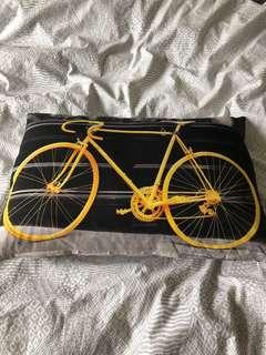 Trendy Bicycle Pillow
