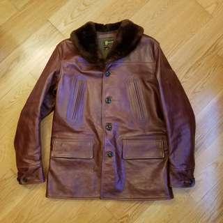 Buzz Rickson's horsehide leather jacket size 40