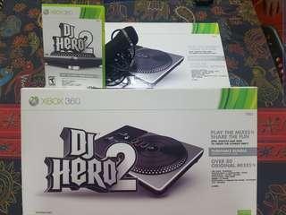 Xbox 360 DJ Hero 2 Set