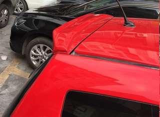 Honda Fit GE Jazz Roof Spoiler