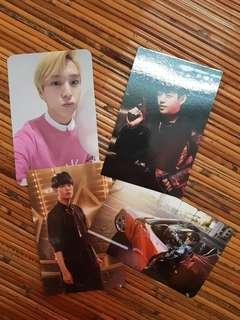 B.A.P Pre-loved official photocards (Himchan, Daehyun, Youngjae)