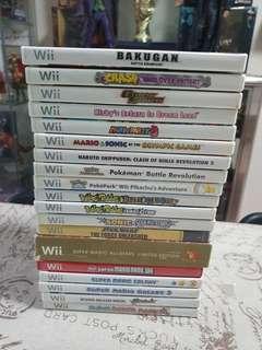 🚚 Wii Games