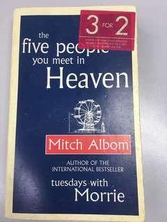🚚 Mitch Albom 5 people you meet in heaven