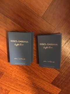 D&G Light  Blue Eau intense miniature