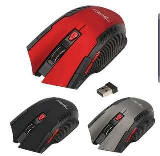 🚚 6 Buttons Wireless Gaming Mouse
