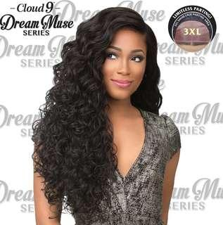 Cloud9 swiss lace front wig