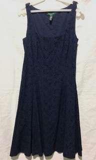 LAUREN by Ralph Lauren Navy blue Dress