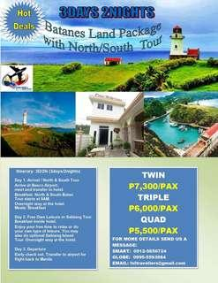 3d2n All in Batanes Land Package with North/South Batan Tour