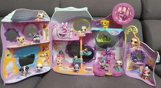 Littlest Pet Shop Tail Waggin' Fitness Club Playset