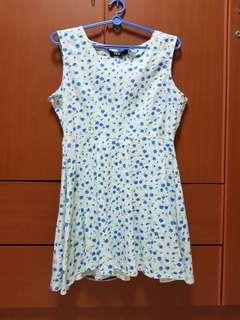 YFS blue floral dress