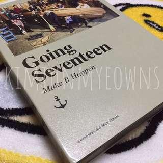 "SEVENTEEN ""Going Seventeen"" Make It Happen Version Official Album"