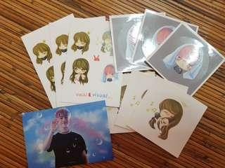 B.A.P Daehyun sticker set by Vocal_Visual