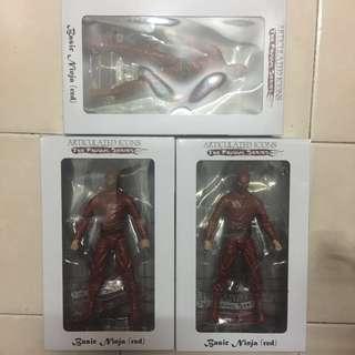 1/12 scale basic ninja (red)