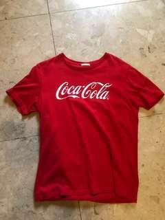 [特價中]Coca Cola tee M GU
