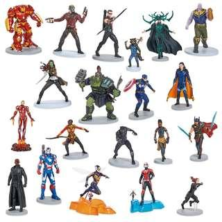 Disney Marvel Studios The First Ten Years Exclusive 20-Piece Figurine Playset