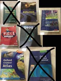KS3 CAMBRIDGE OXFORD TEXTBOOKS ENGLISH GEOGRAPHY HISTORY