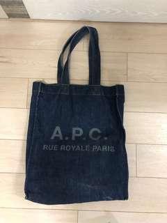 Apc 牛仔布袋