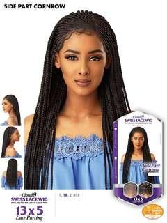 Cloud9 swiss lacefront braided wigs