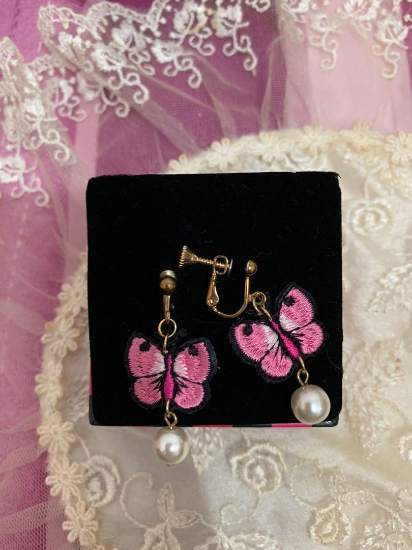 超可愛夾式耳環一起賣#半價良品市集