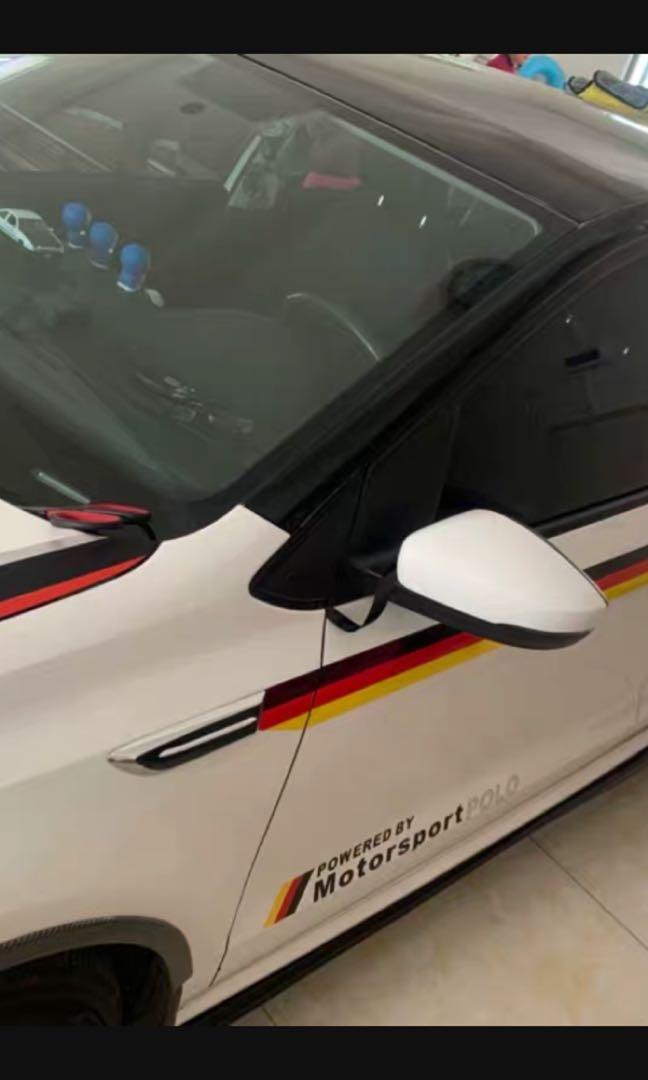 電鍍車前蓋 門貼