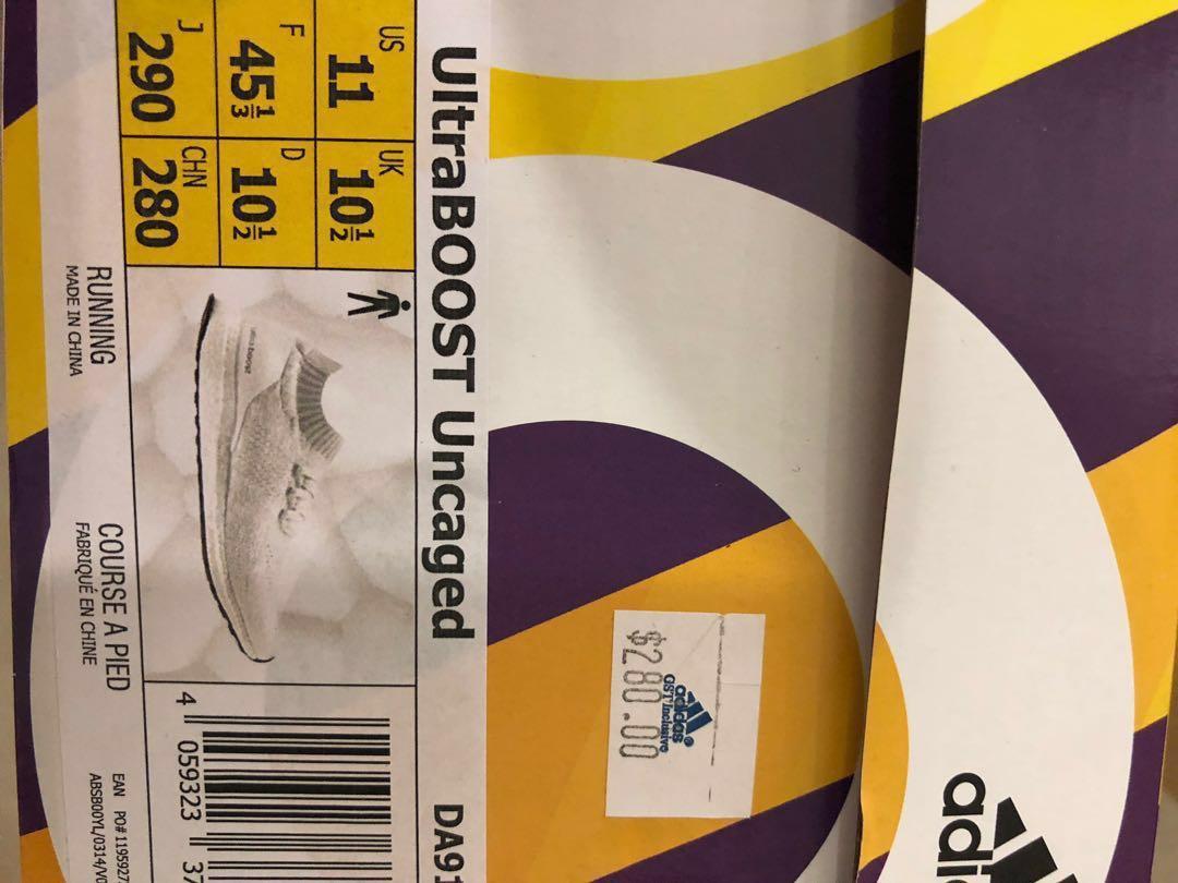 Adidas Ultraboost Uncaged LTD. BNIB.