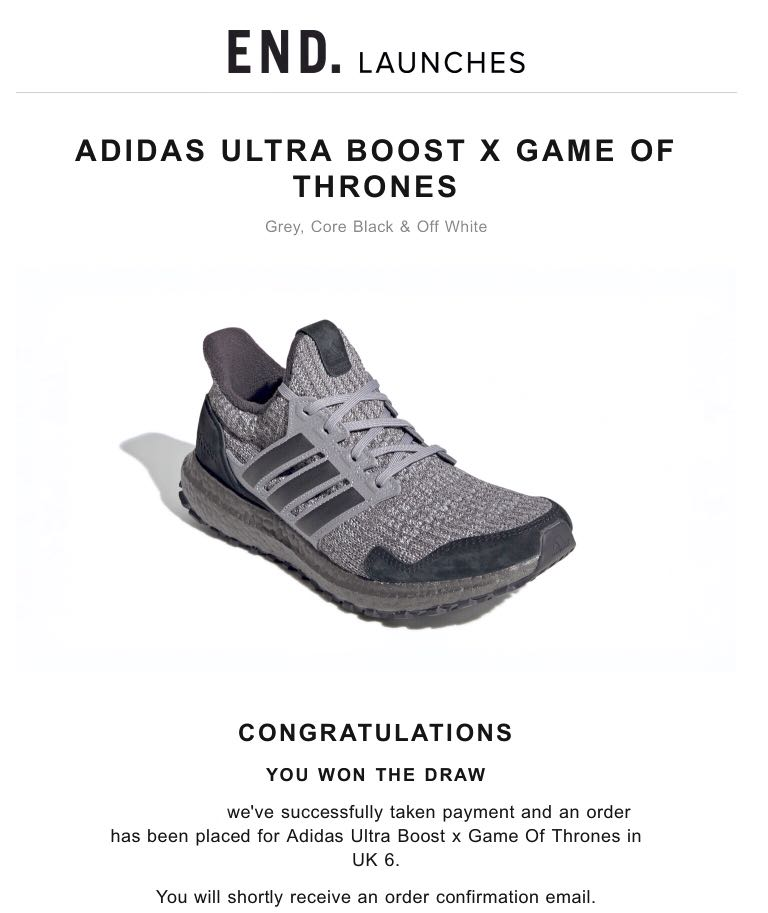 67be96505 Adidas x Game of Thrones