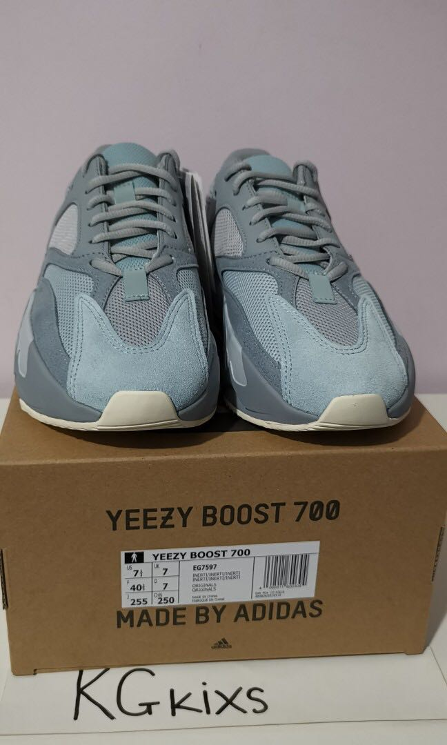 separation shoes 79a2d 2355d Adidas Yeezy Boost 700 Inertia