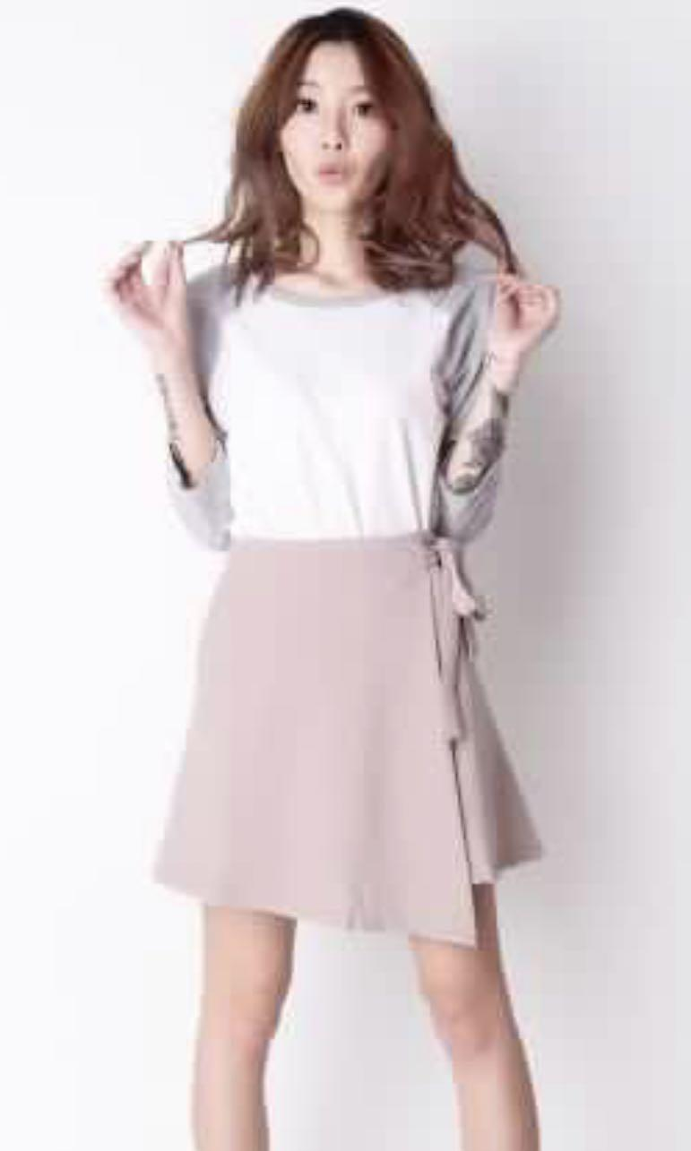AFA Knot For You Skirt in Pink (S)