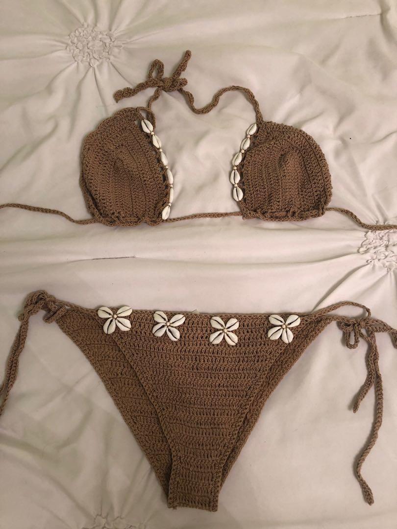 Andi bagus seashell bikini