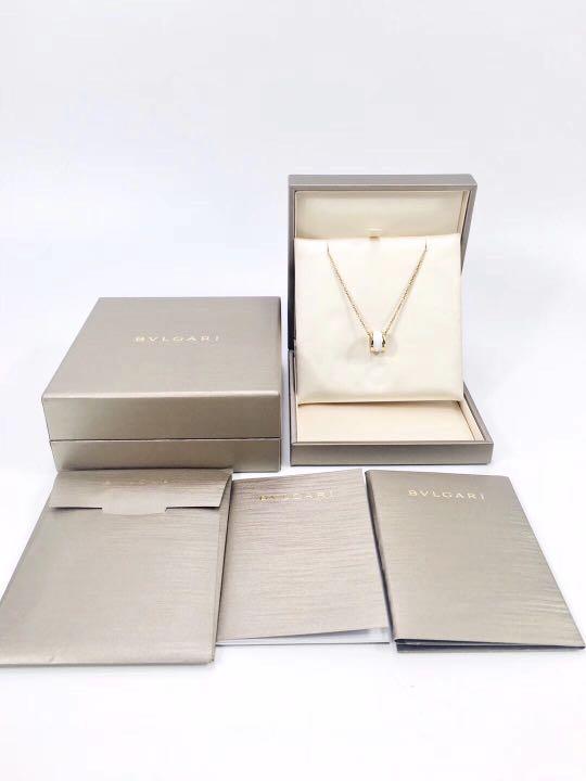 Authentic Pre-loved Bvlgari B.Zero 1 White Ceramic 18k Rose Gold Pendant Necklace