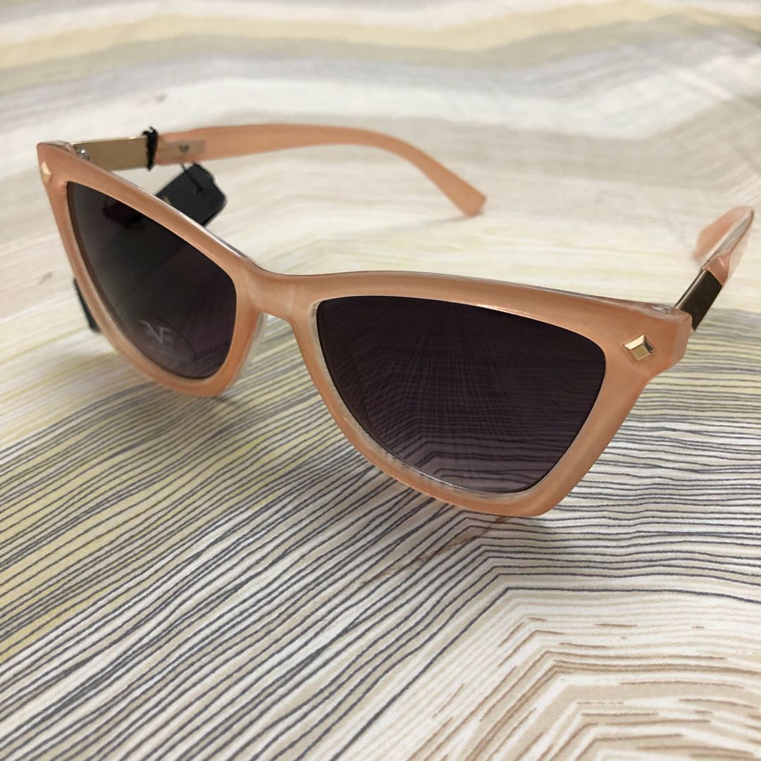 78c188eb769c Authentic Versace 1969 V Italia Coral Translucent Vintage Sunglasses ...