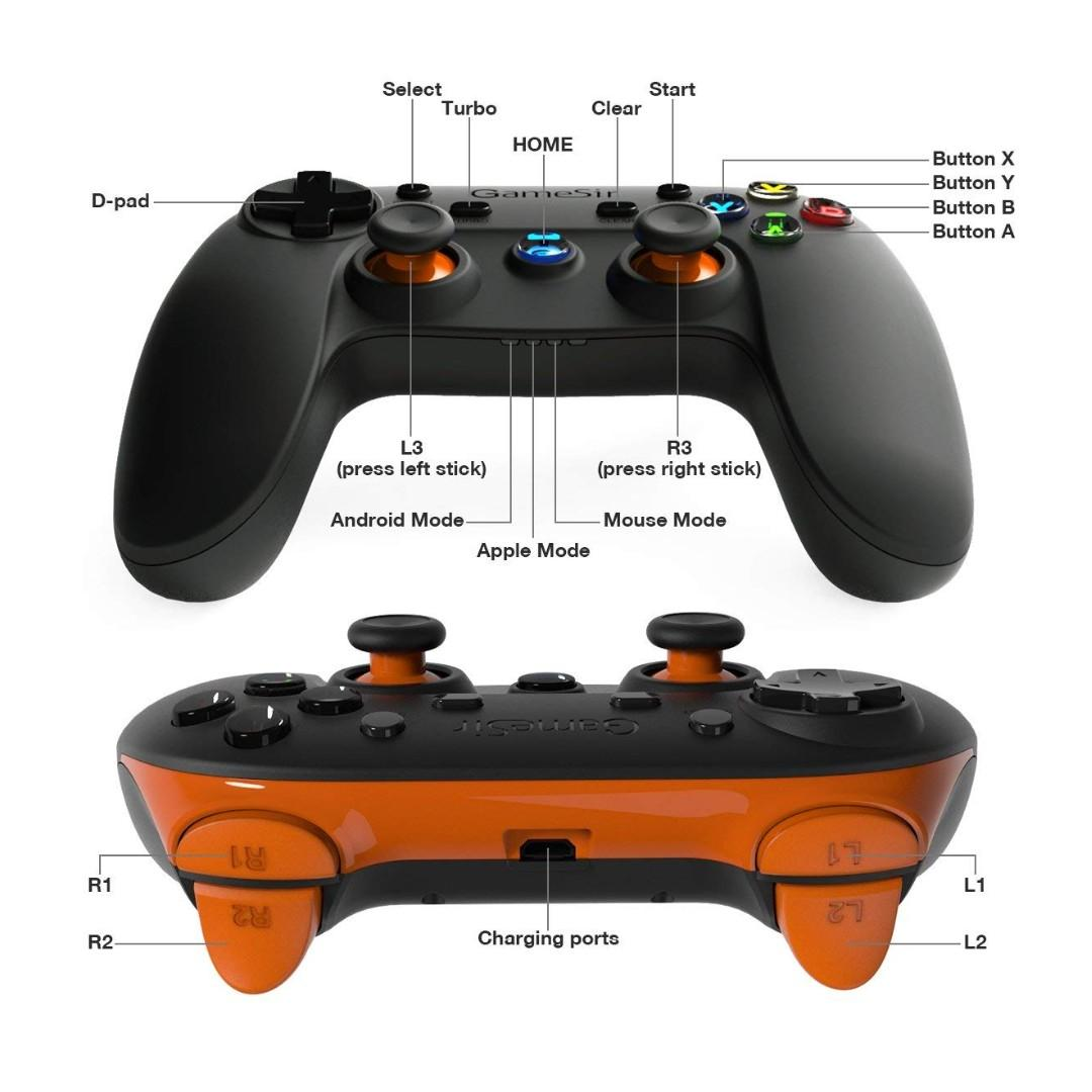BNIB) GameSir G3s Bluetooth Wireless Controller for Android