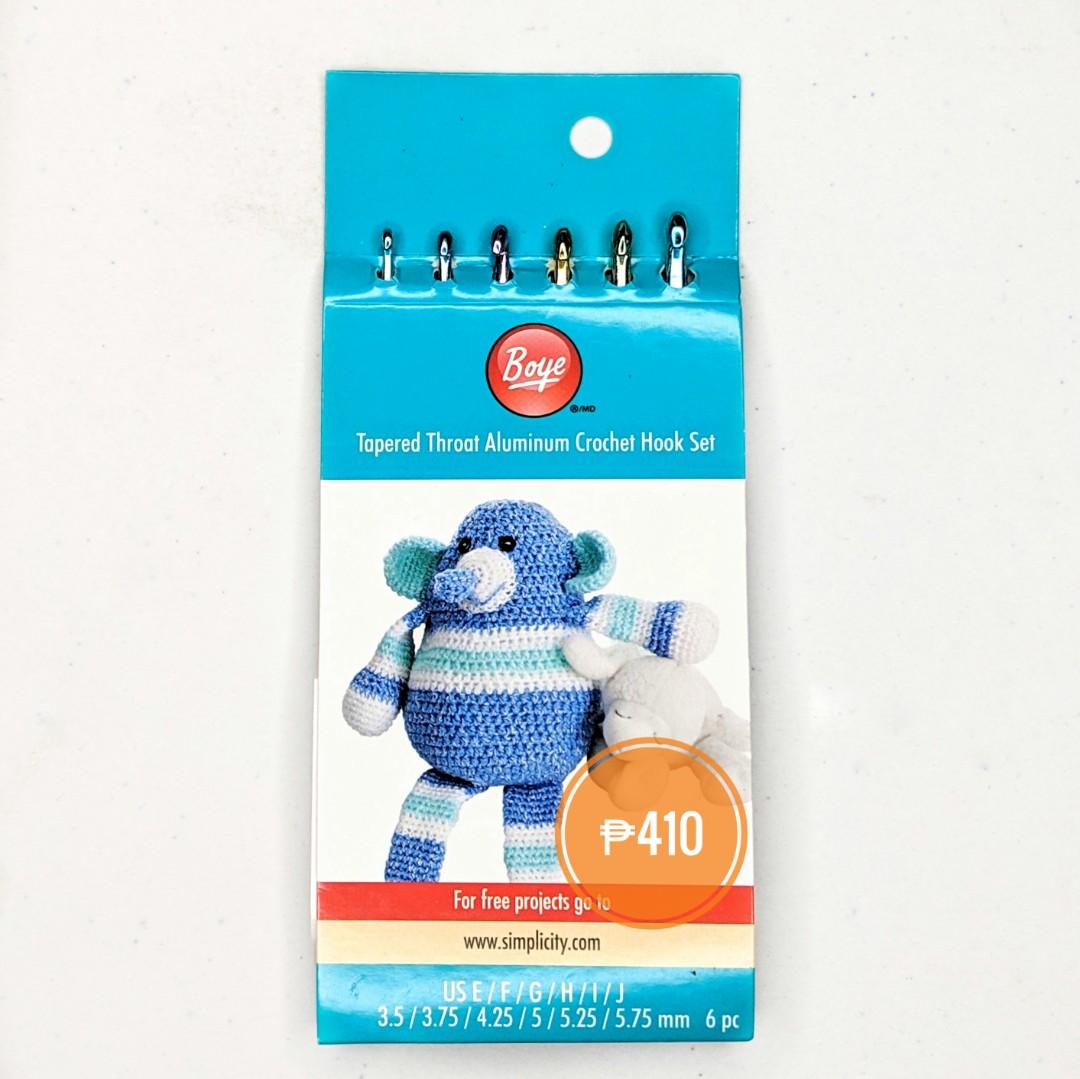 Boye Crochet Hook Set Design Craft Craft Supplies Tools On