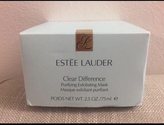 Brand New Estee Lauder Clear Difference Purifying Exfoliating Mask 75ml
