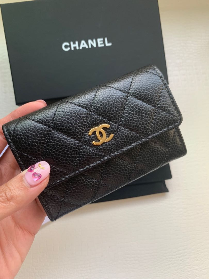 41c226ec75ab Chanel Card Holder, Luxury, Bags & Wallets, Others on Carousell