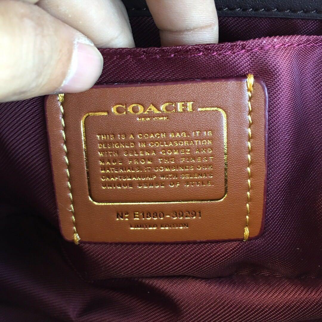 Coach Selena Gomez Trail Bag Colorblock Women Beg Crossbody Sling f39291 chalk 39291 #STB50