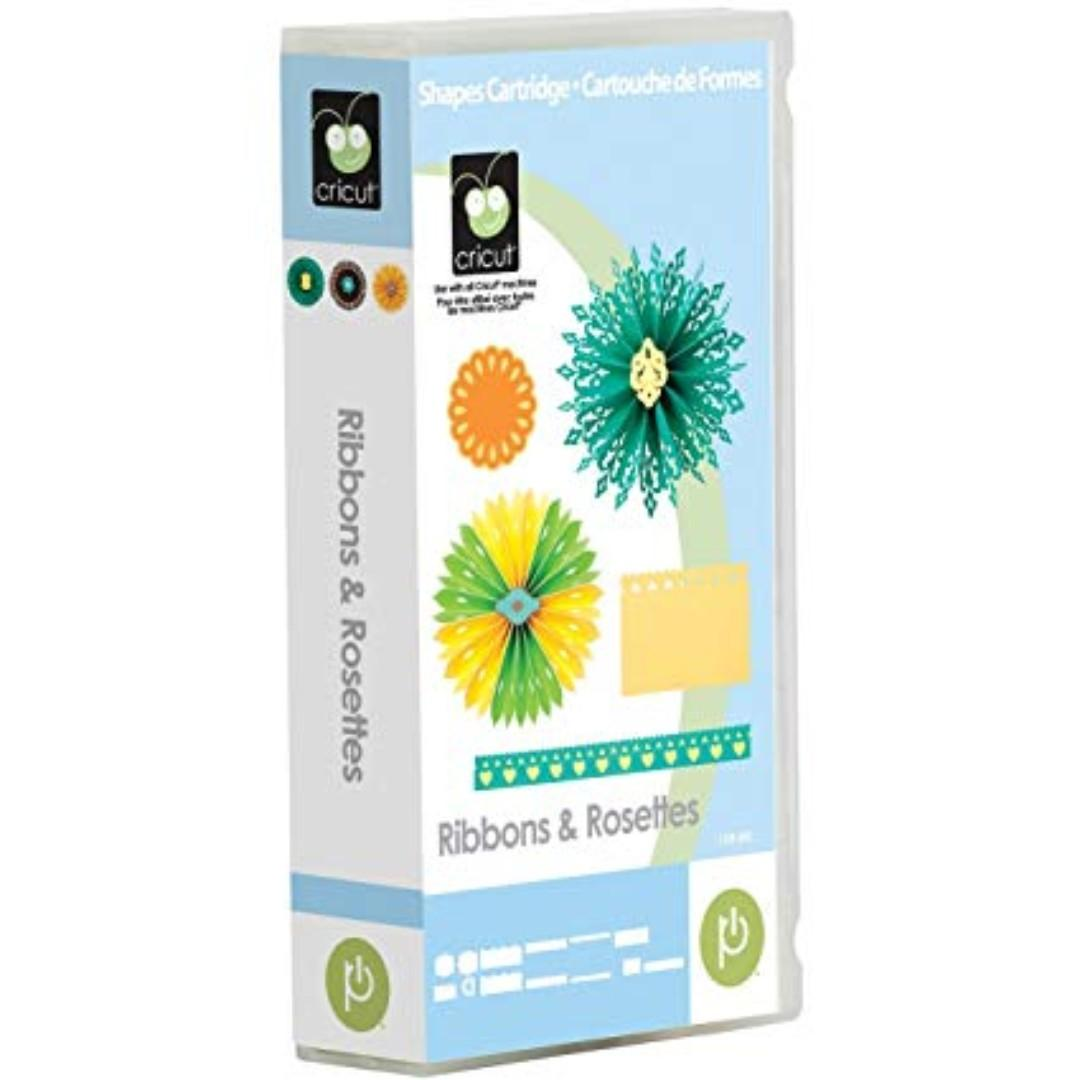 Cricut Ribbons and Rosettes cartridge. $25. Cash & carry.