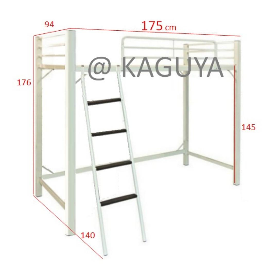 Custom Size Loft Bed New White Special Size For Helper Furniture Beds Mattresses On Carousell