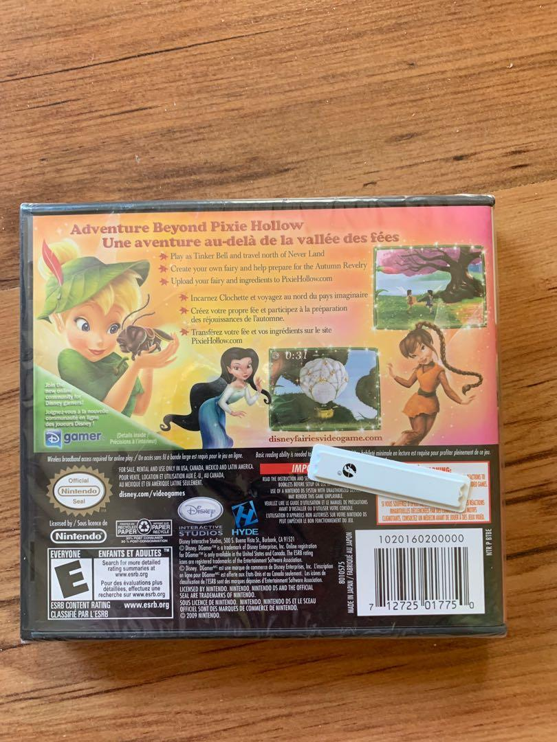 Disney TinkerBell and the Lost Treasure Nintendo DS Game